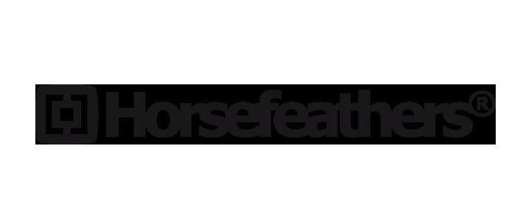 Výsledek obrázku pro horsefeathers logo